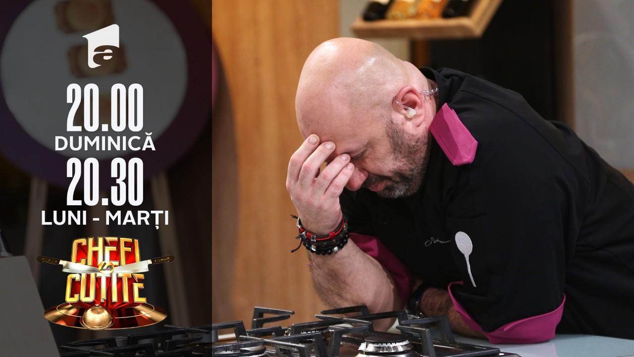 Amuleta a salvat cuţitul de aur din echipa lui Chef Scărlătescu! Pe cine a trimis acasă în locul lui Alex?