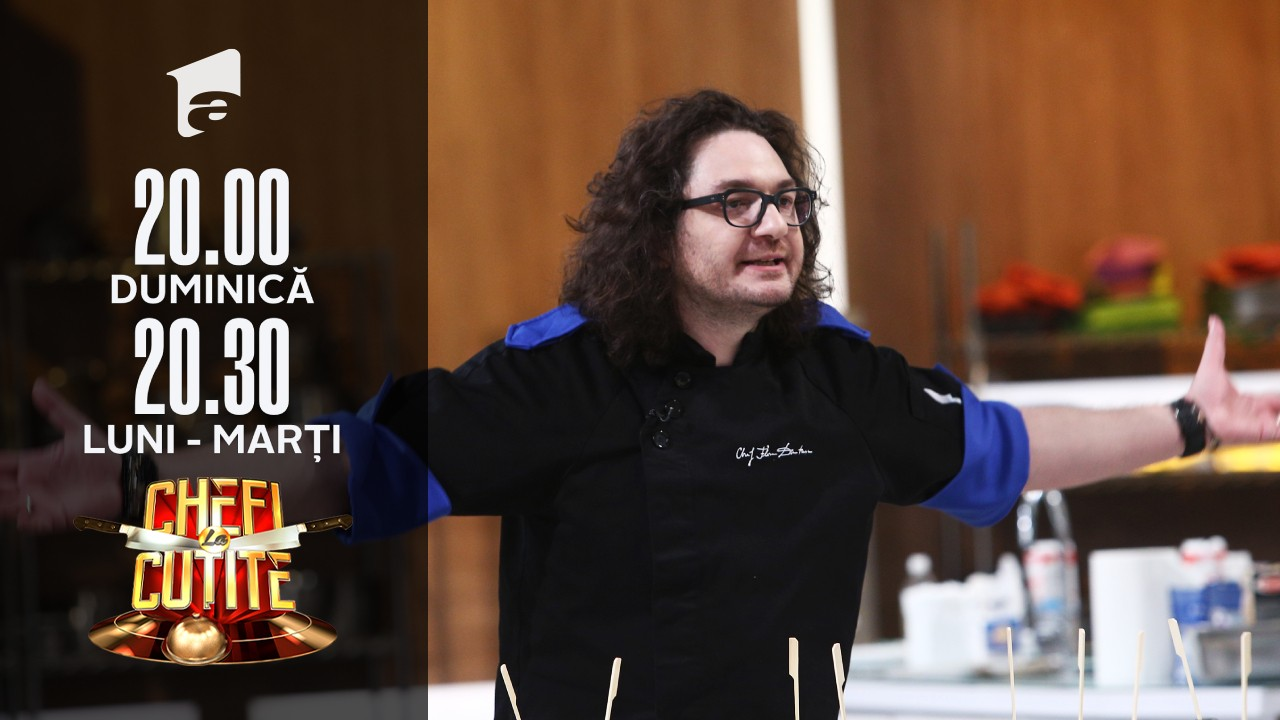 Chef Bontea și chef Dumitrescu, ceartă așa cum nu s-a mai văzut: M-a luat capul. Nu mai pot, mi s-a umflat vena!