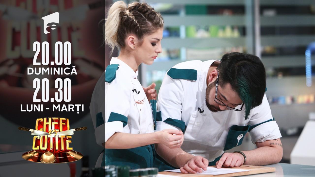 Proba individuală, cea mai dificilă de până acum! Concurenții gătesc cu chipsuri, pufuleți sau grisine!