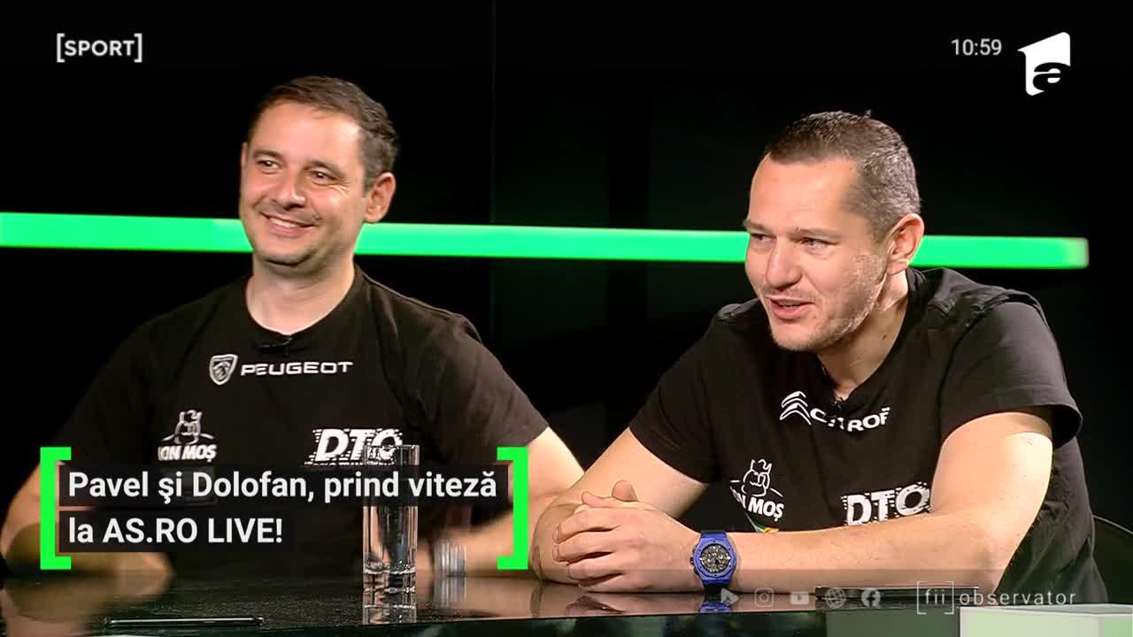 AS.ro LIVE - Ediția 115 - Cristi Dolofan şi Traian Pavel
