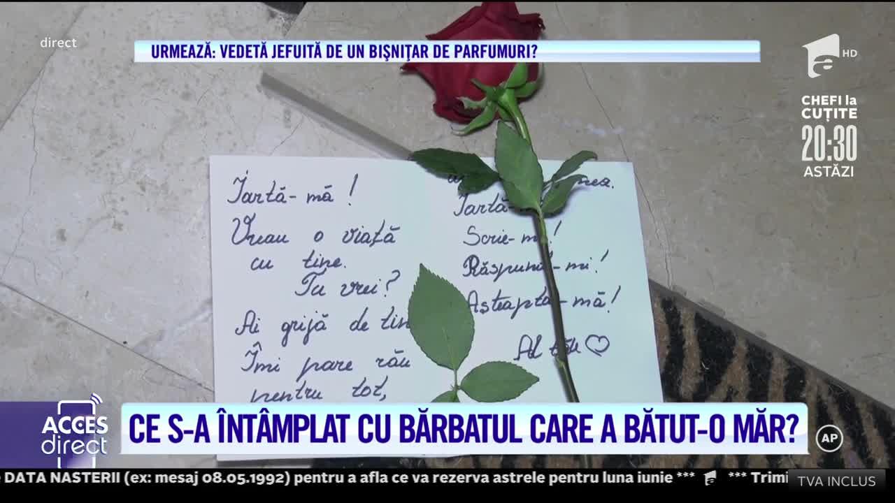 Iubitul Gabrielei Cristoiu, livrare specială! Vedeta a primit cadouri în fața ușii apartamentului