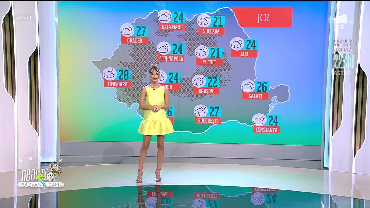 Prognoza Meteo, 9 iunie 2021. Se anunță ploi în partea a doua a zilei  în regiunile sudice și în zonele montane