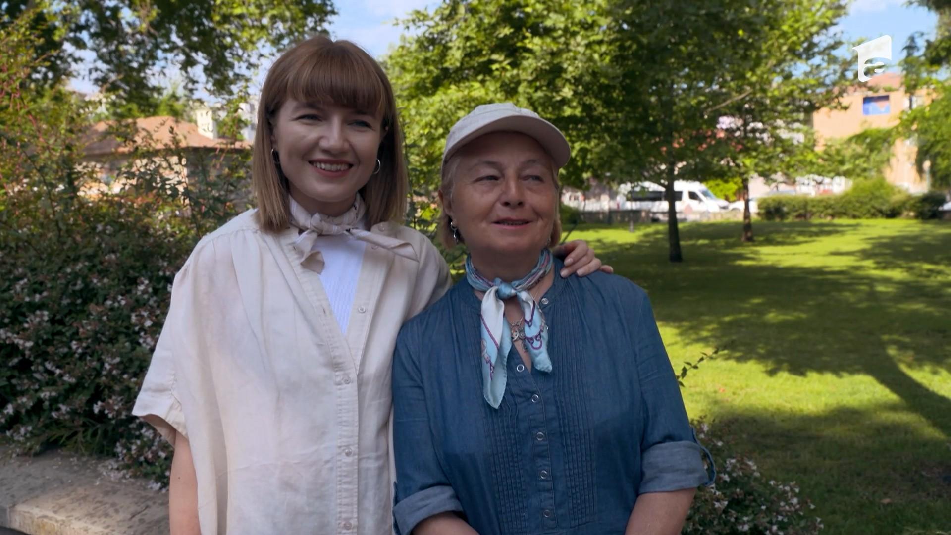 Alexandra Ungureanu şi mama sa fac echipă la Asia Express