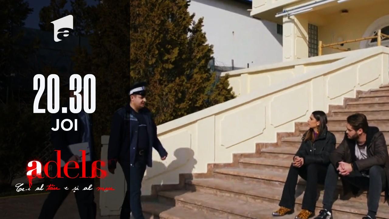 Adela, episodul 43. Luca este dus la audieri! Cine l-a reclamat la Poliție