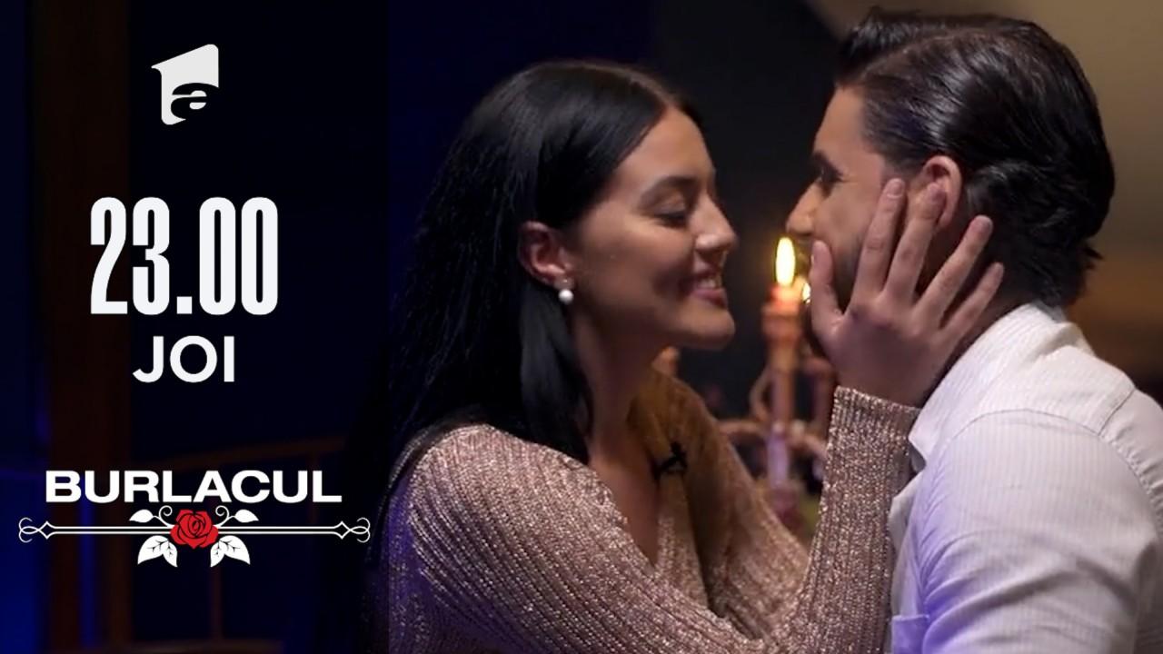 Ipostaze sexy! Simona și Andi, sărut pasional