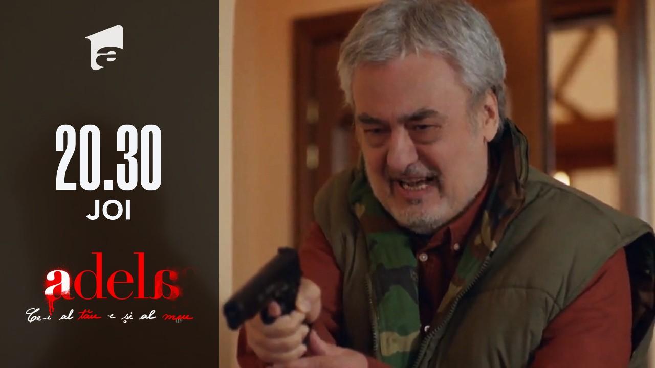 Adela, episodul 44. Gheorghe vrea să o ucidă pe Martha: Este o criminală. A comandat două crime!