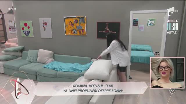 Romina l-a refuzat pe Ionuț să doarmă cu el