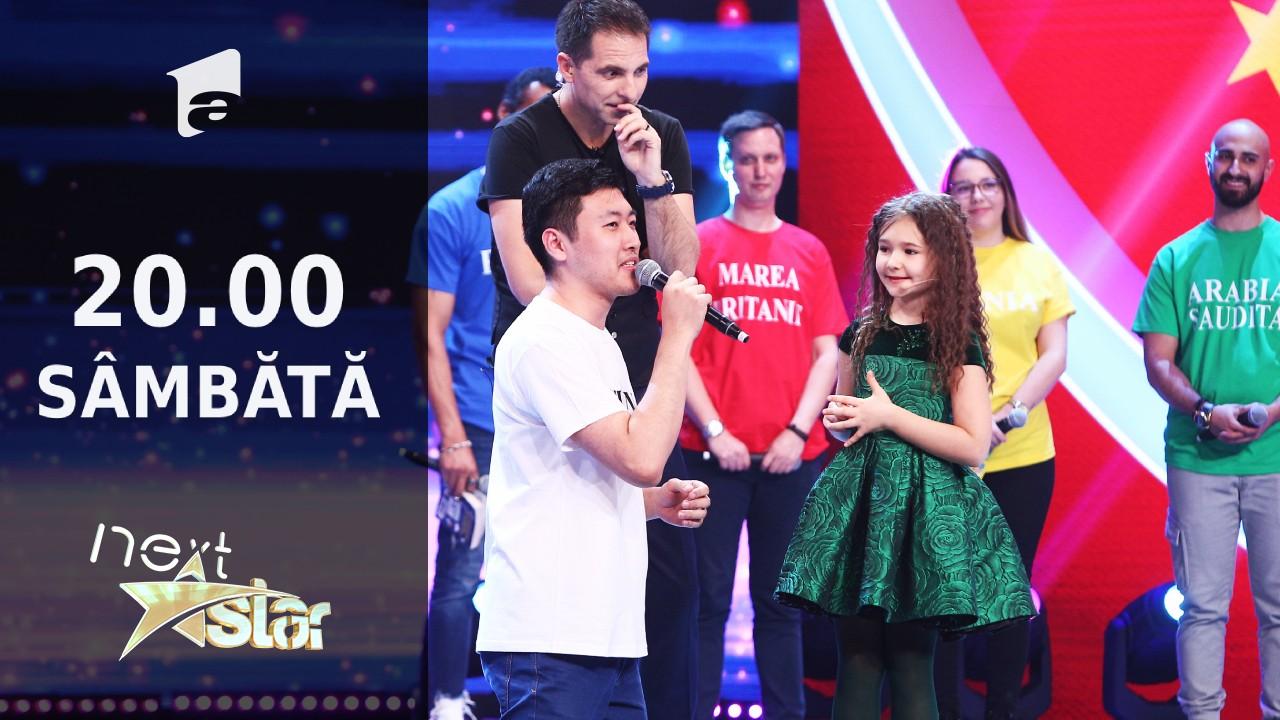 Next Star - Sezonul 10: Bella - vorbește fluent 8 limbi străine