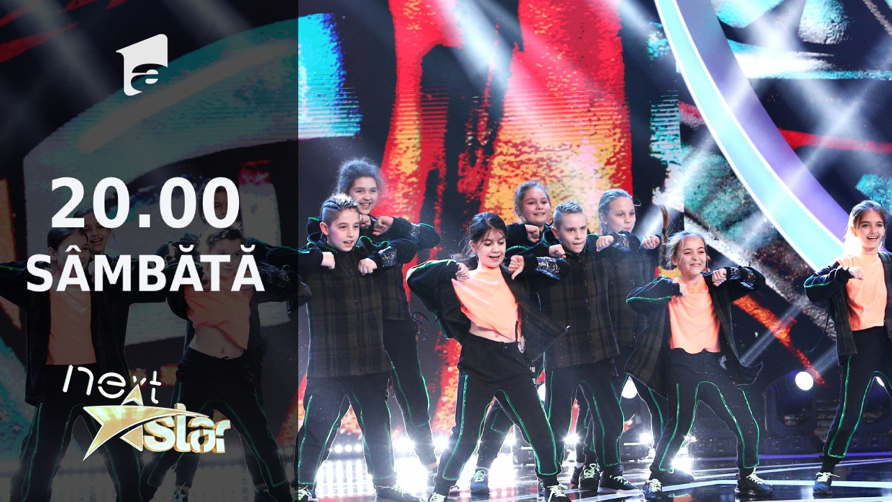 Next Star - Sezonul 10: Mini District - moment de dans urban și show de lumini