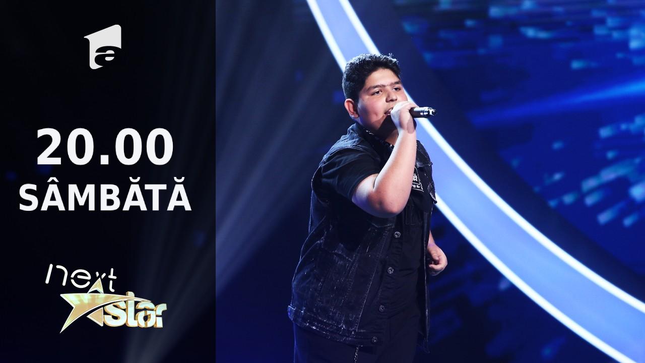 """Next Star - Sezonul 10: Mario Serafim - interpretează piesa """"What's Up"""""""