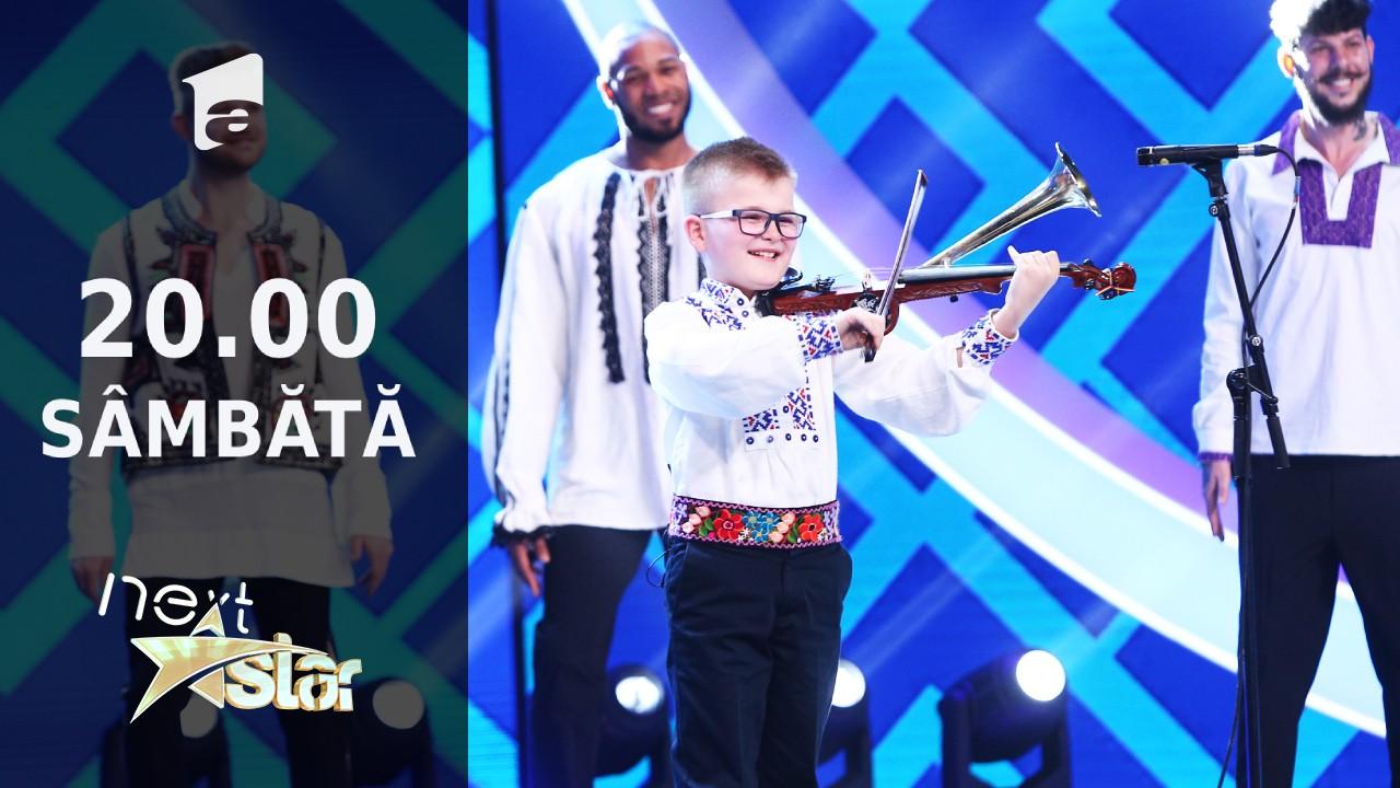 Next Star - Sezonul 10: Alex Lucaciu - interpretează muzică populară la vioară cu goarnă