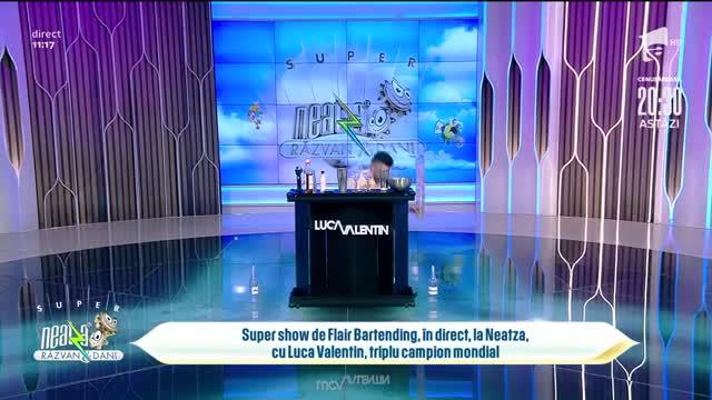 Super show de Flair Bartending, în direct, la Super Neatza