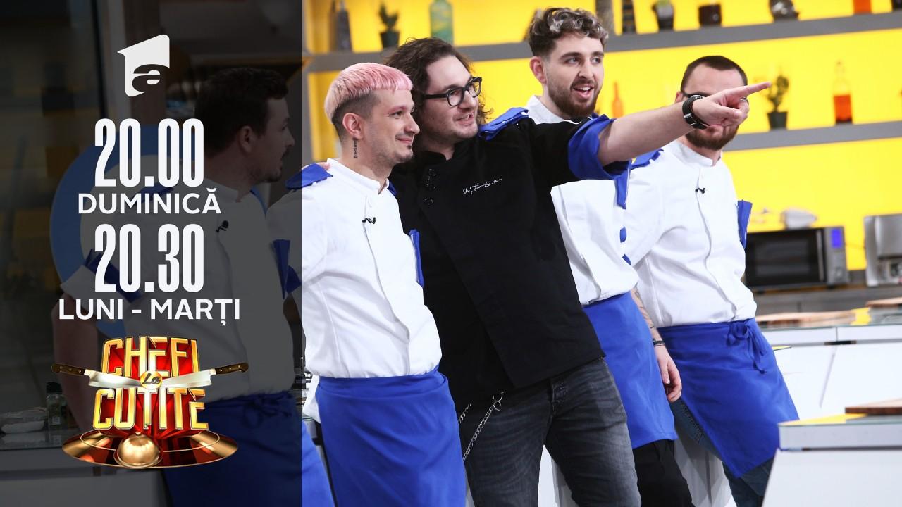 """Proba """"Signature dish"""". Chef Dumitrescu: Asta înseamnă că trebuie gătit în stilul chefului care reprezintă echipa"""