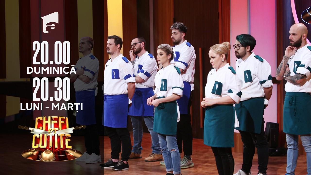 Lacrimi la Chefi la cuțite! Doi concurenți au fost eliminați