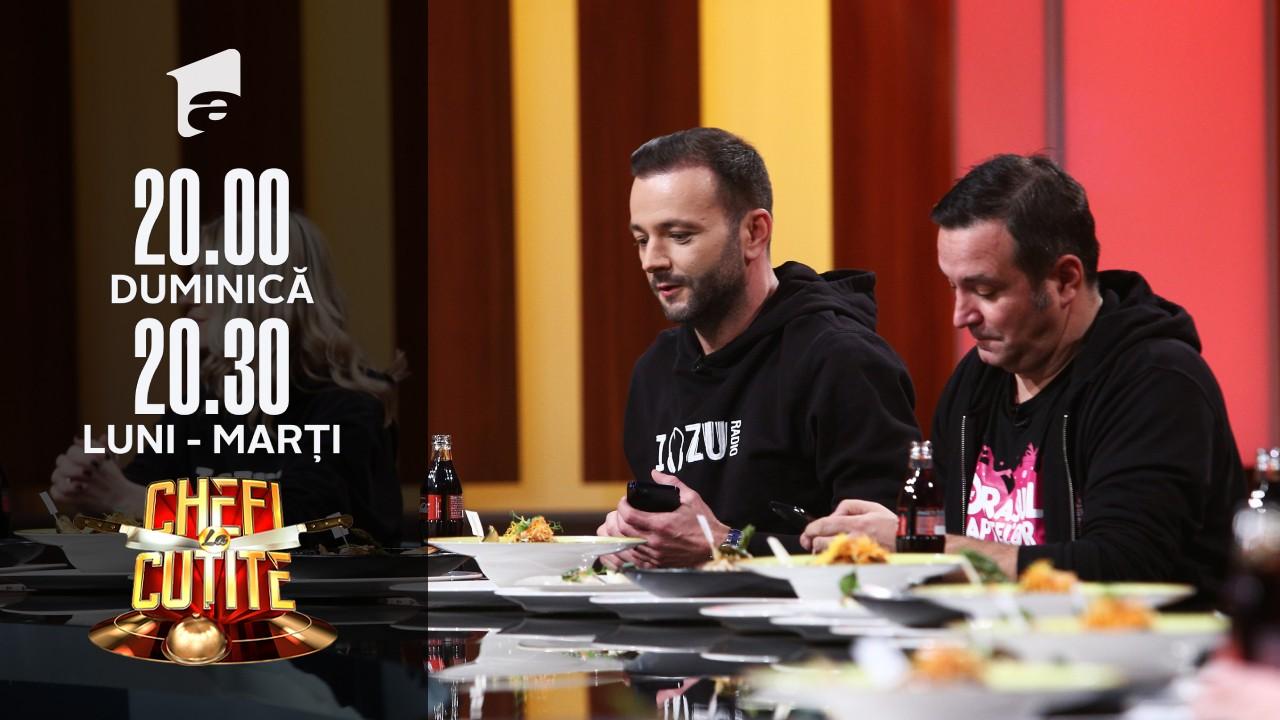 Preparatele, degustate de echipa Radio ZU! Emoții maxime pentru concurenți