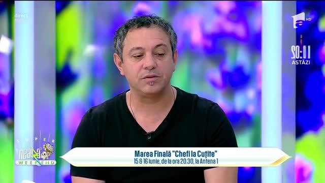 Chef Florin Bontea, despre marea finală Chef la cuțite: Telespectatorii pot gusta din meniurile finaliștilor!