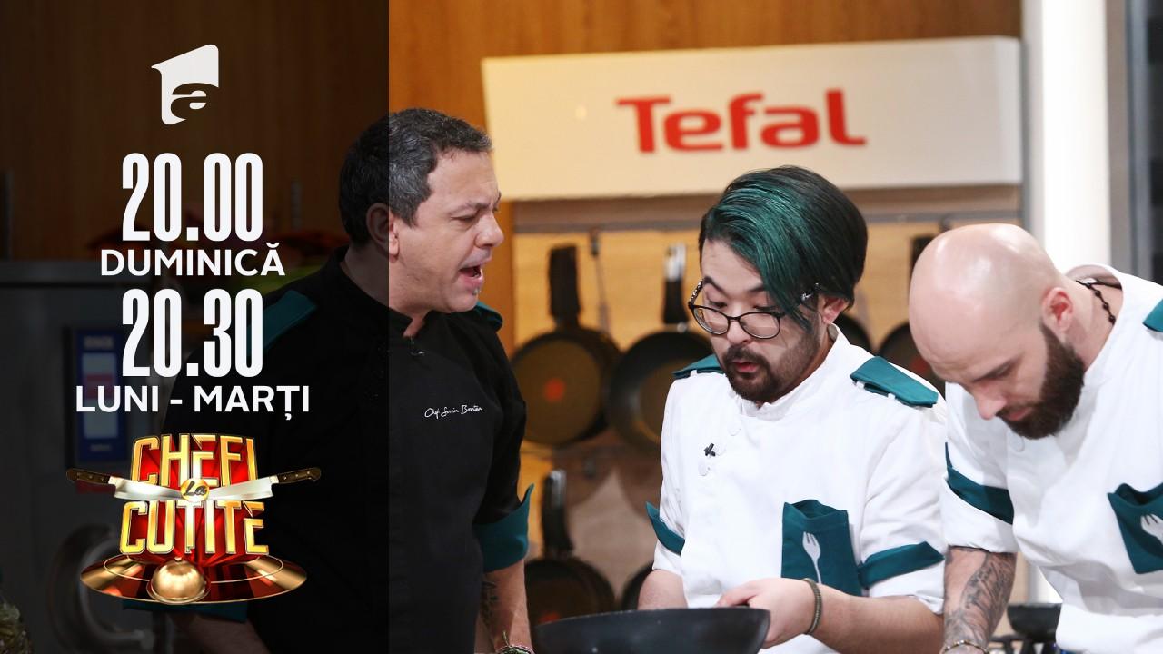 Tensiune maximă în bucătăria Chefi la cuțite. Chef Bontea: Ce dor, ce chin, ce jale!
