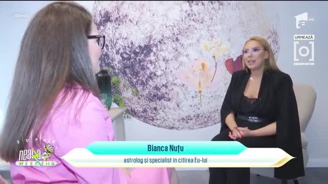 Bianca Nuțu și-a deschis un cabinet de astrologie