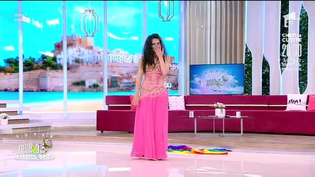 Leila Belly Dance, super dans oriental la Neatza cu Răzvan și Dani