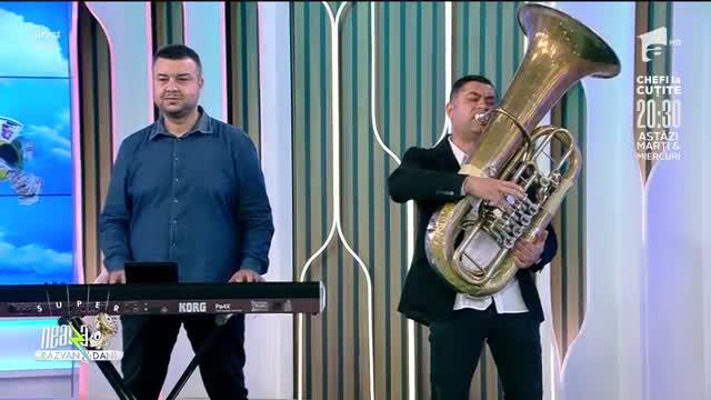 Relu și The Zuralia Orchestra, spectacol muzical în platoul de la Neatza cu Răzvan și Dani