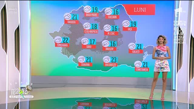 Prognoza Meteo, 14 iunie 2021. Vreme răcoroasă și instabilă în toată țara