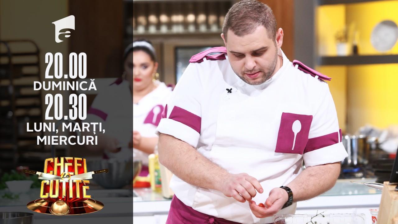 Tema primei probe din semifinala sezonului 9 de la Chefi la cuțite: gustul de acasă