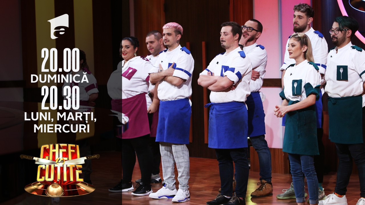 Iată care sunt cei trei finaliști din sezonul 9 Chefi la cuțite!