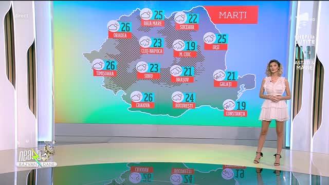 Prognoza Meteo, 15 iunie 2021. Vreme se încălzește în majoritatea regiunilor