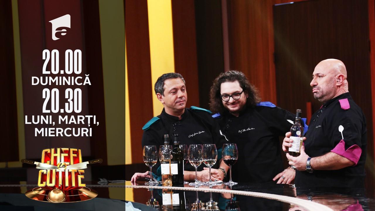 """Chefii au degustat preparatele semifinaiştilor! Chef Florin Dumitrescu: """"Sunt cazuri în care cea mai bună farfurie nu ia 15 puncte"""""""