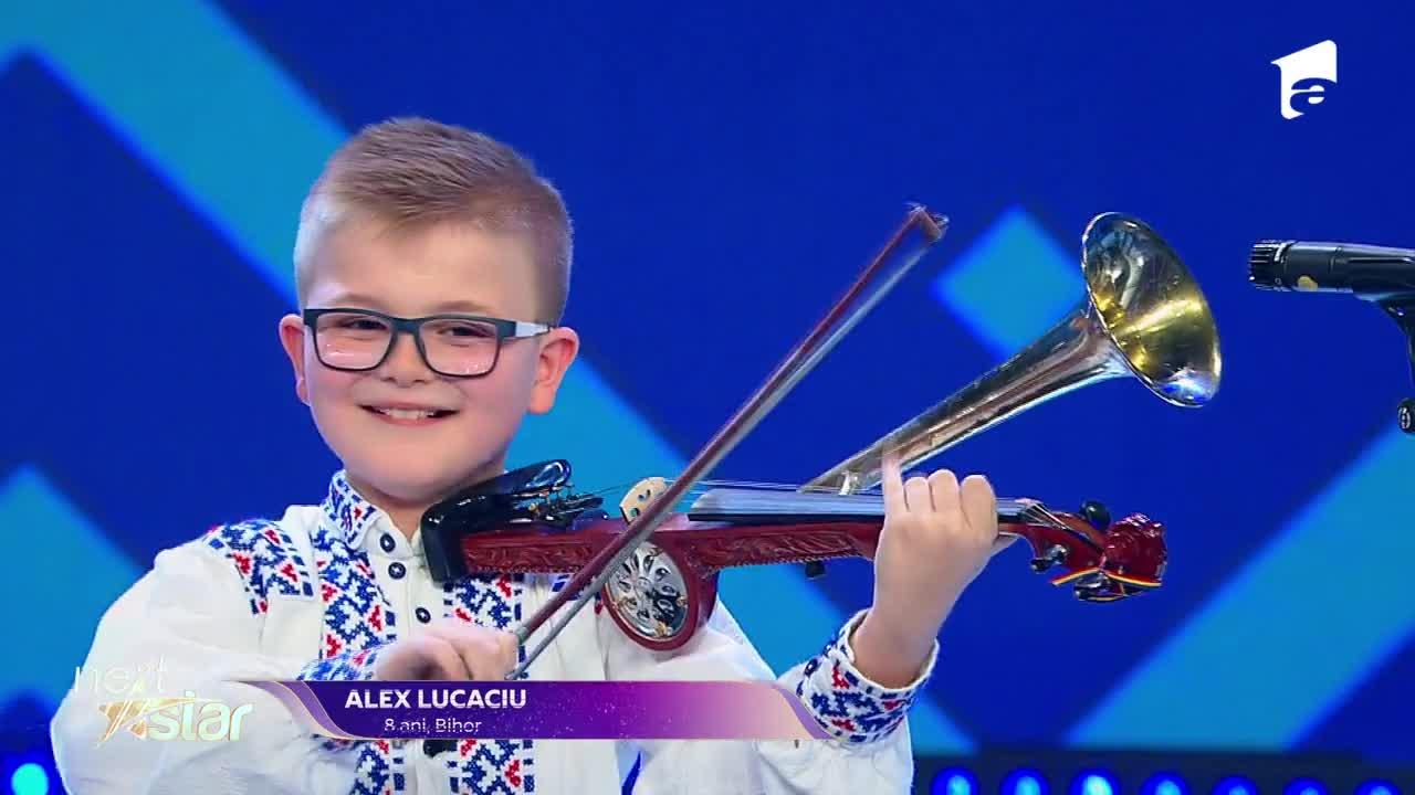 Next Star - Sezonul 10: Alex Lucaciu - interpretare si jurizare