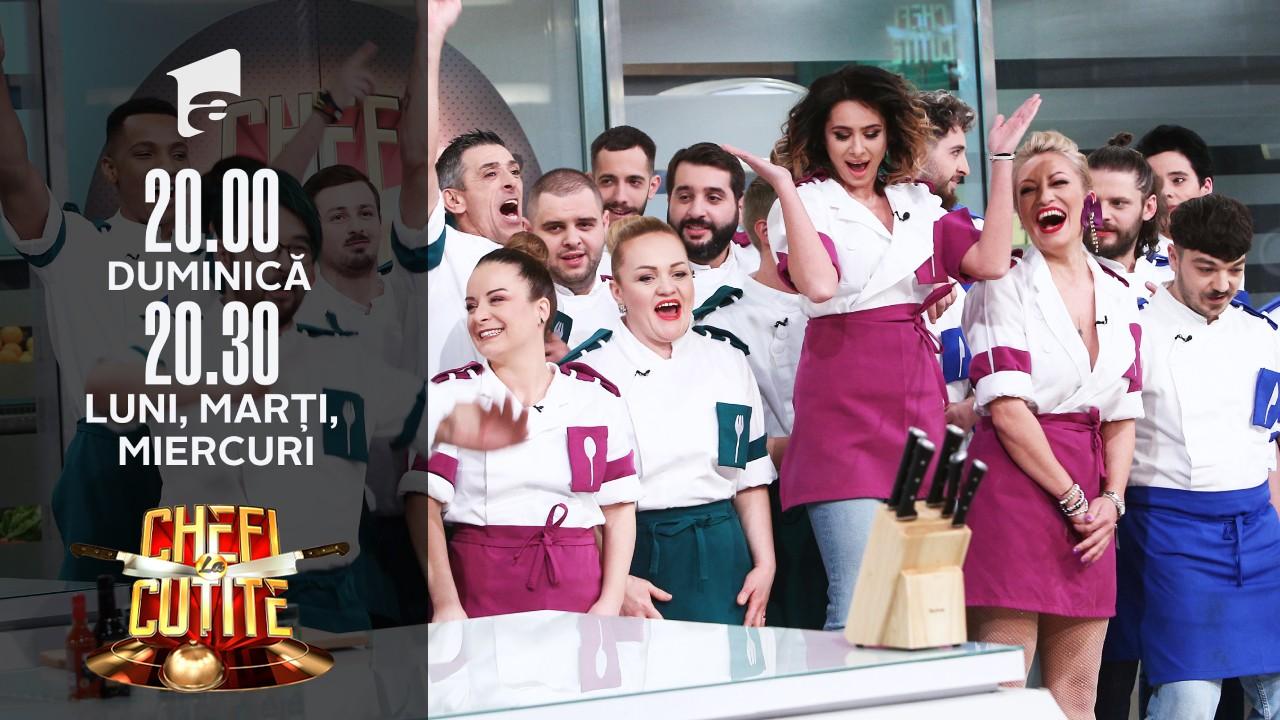 Surpriză înainte de startul finalei Chefi la cuţite Sezonul 9! Cine şi-a făcut apariţia în platou?