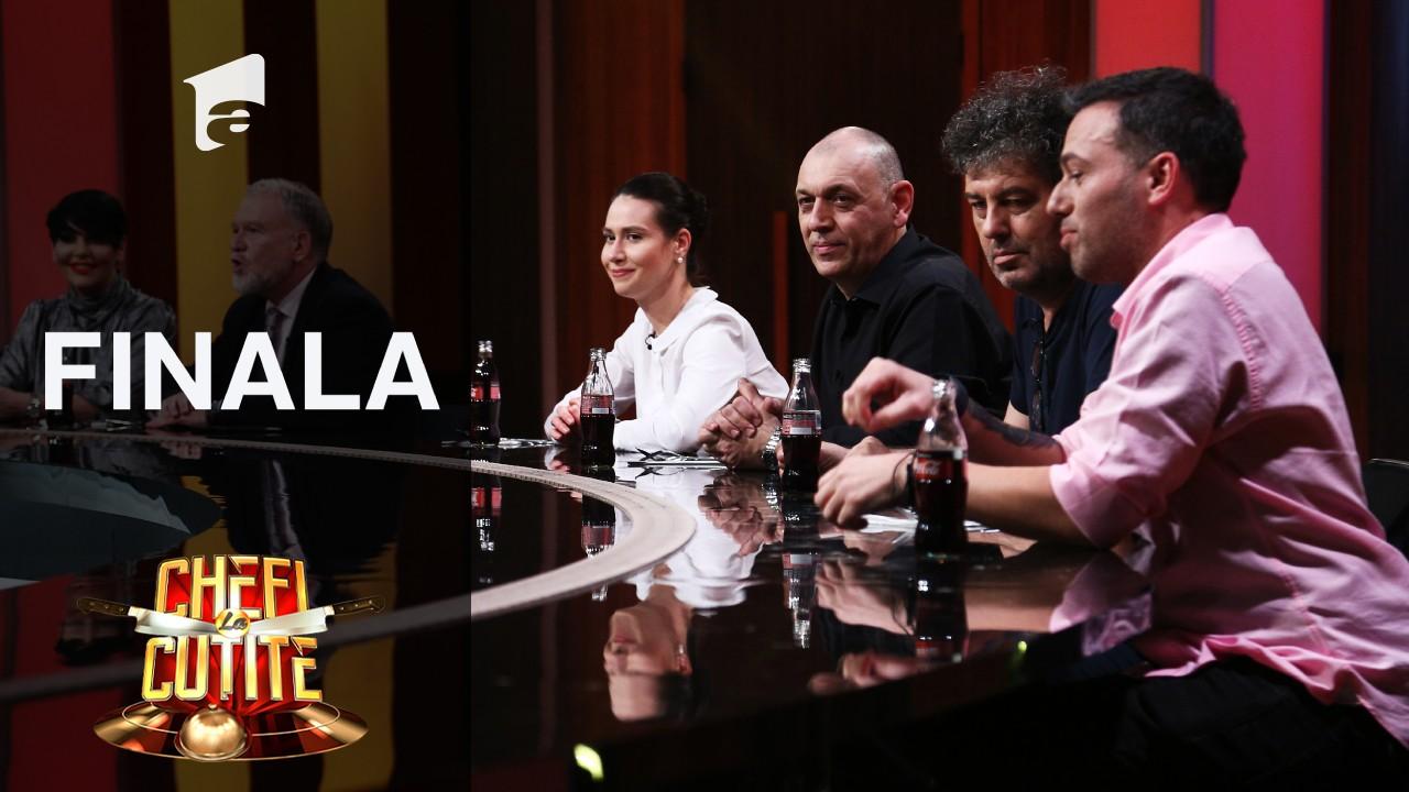 Unii dintre cei mai buni chefi din România au jurizat starterul din finala Chefi la cuţite, Sezonul 9!