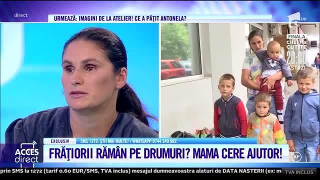 O mamă cu patru copii au străbătut 400 de kilometrii să scape de chinuri!