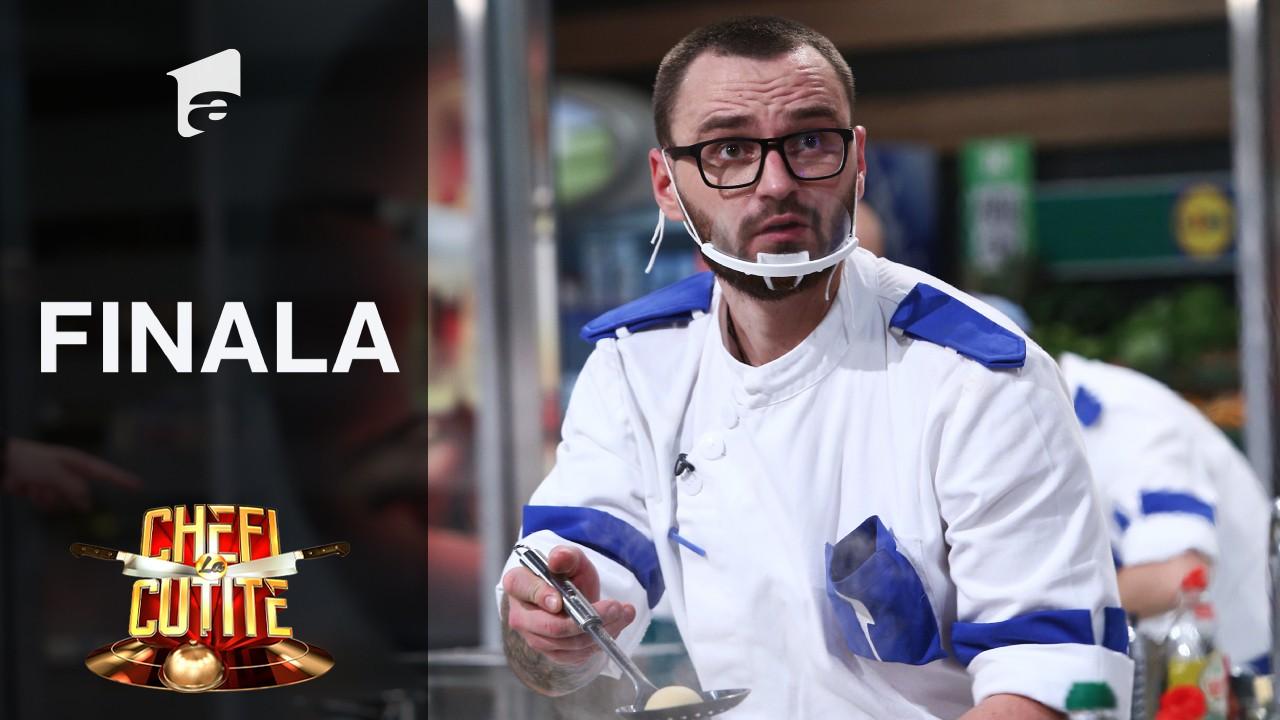 """De ce s-a panicat în marea finală Cătălin Amarandei: """"Chef Florin m-a destabilizat complet"""""""