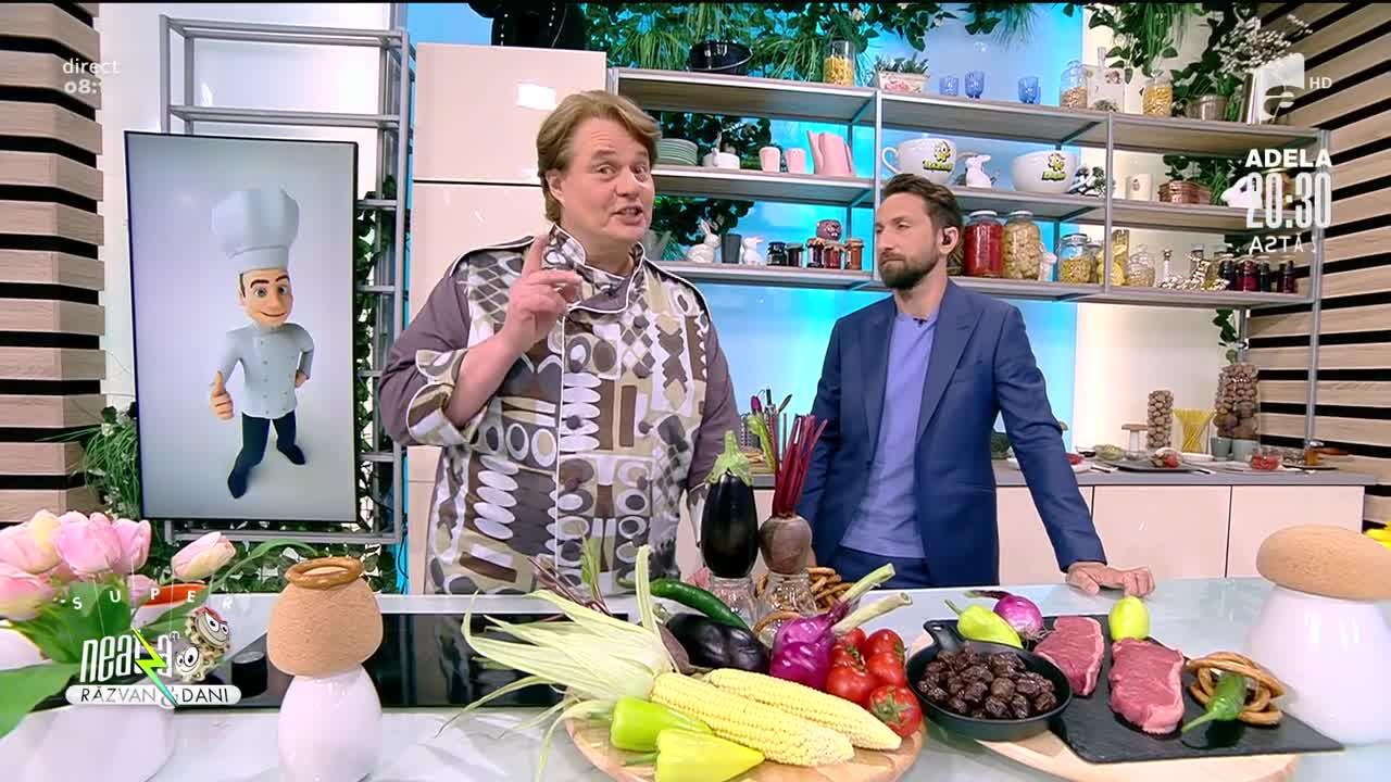 Vrăbioară cu legume coapte, rețeta lui Vlăduț de la Neatza cu Răzvan și Dani
