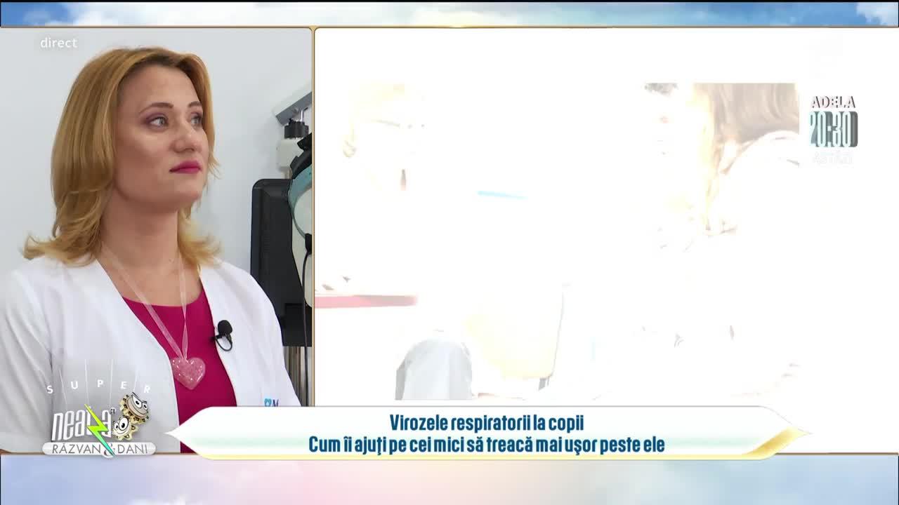 Virozele respiratorii la copii! Cum îi ajuți pe cei mici să treacă mai ușor peste ele