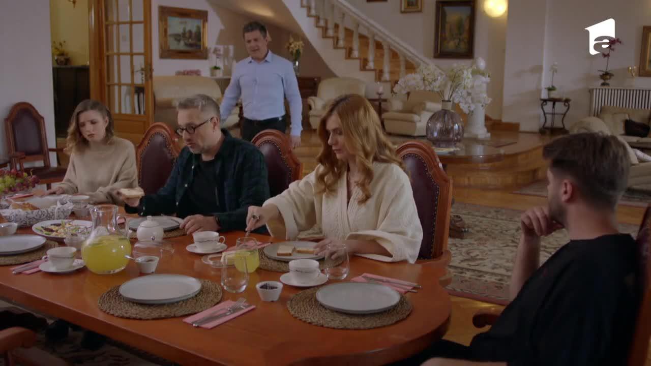"""Adela, episodul 45. Dorin încearcă să o convingă pe Florica să plece! """"Nu se poate să fii menajera fostei mele soţii"""""""