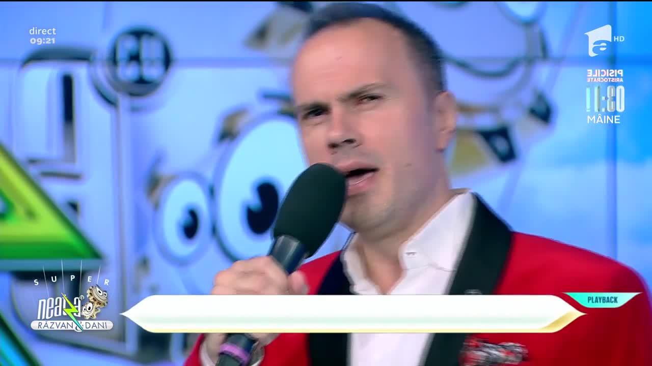 Distinto cântă piesa Prima noapte, la Neatza cu Răzvan și Dani