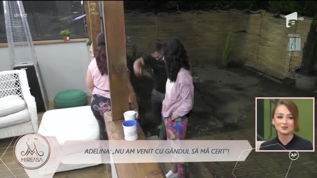 Adelina și doamna Daniela, război fără precedent: Ia-ți mimoza de aici!