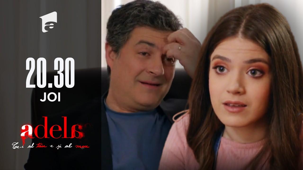 """Adela, episodul 46. Adela îi propune lui Paul ca Andreea să fie imaginea campaniei: """"E mai potrivită"""""""