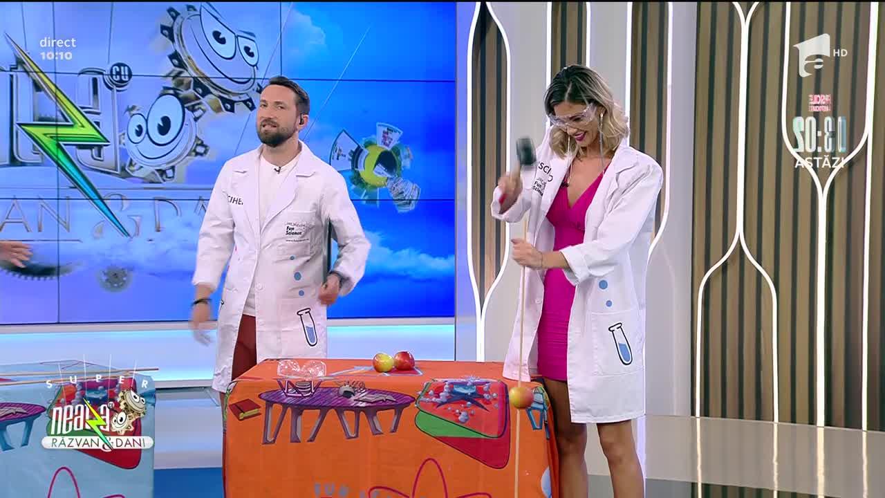 Profesorii Trăsniți, super experiment la Neatza cu Răzvan și Dani