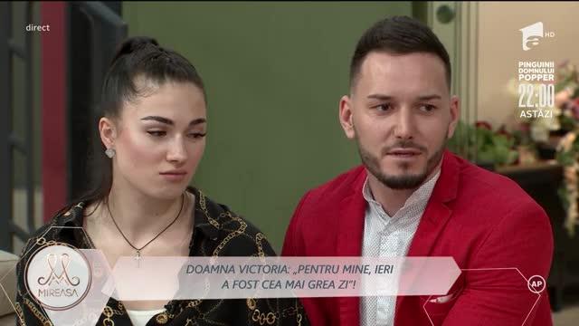 Romina, la dispoziția doamnei Victoria: Nu mai vreau să deranjez pe nimeni!