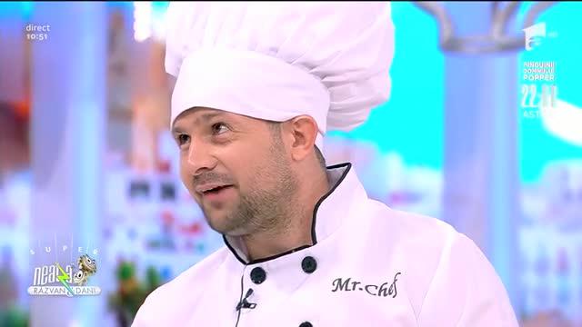 Iluzionistul Robert Tudor face magie în bucătărie: Vreau să mă duc la Chefi la Cuțite!