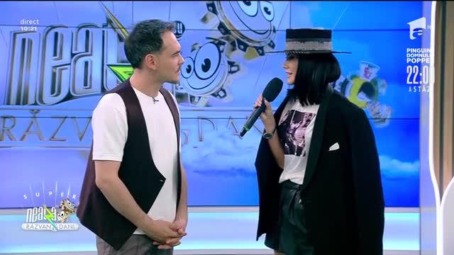 Andreea Ilie cântă piesa Se Si Perde Un Amore, la Neatza cu Răzvan și Dani