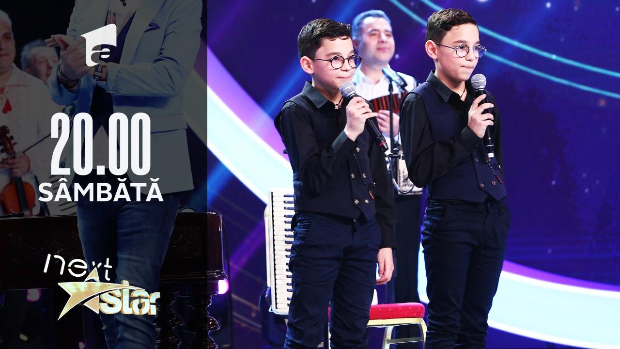 Next Star - Sezonul 10: Ianis și Iustin – show la acordeon și țambal