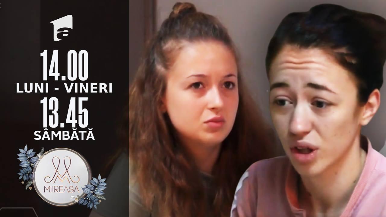 Adelina și Cosmina, replieri de poziție față de Alin!