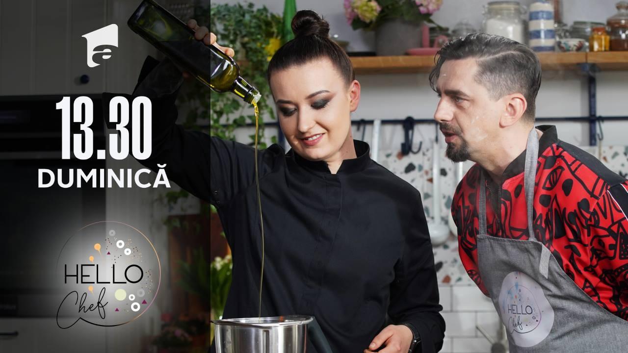 Cosmin Natanticu și chef Roxana Blenche, rețetă de panacotta cu jelly