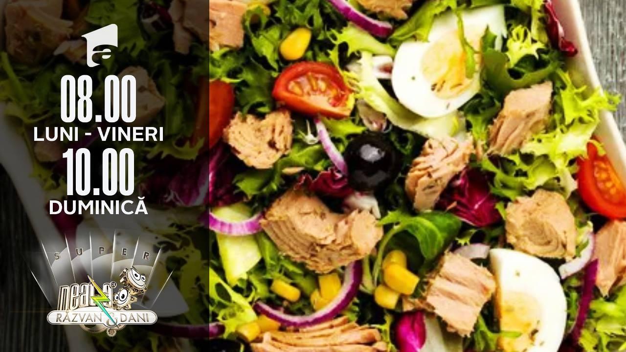Când salata se poate transformă într-o bombă calorică