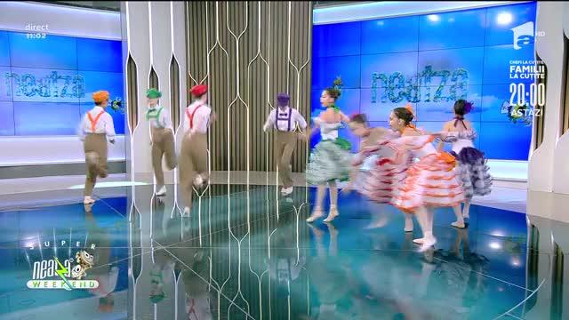 Studioul de balet pentru copii și tineret al Operei Naționale București, in direct, la Super Neatza