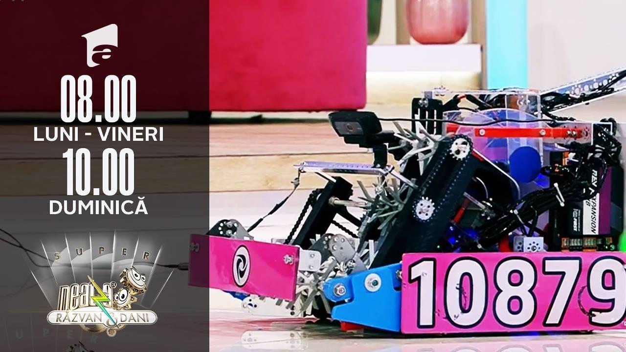 Echipa AutoVortex, lider internațional la competițiile de robotică